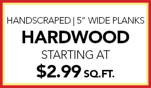 Home Makeover Hardwood Flooring Sale!  Handscraped 5