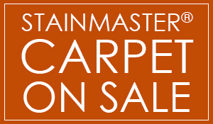 StainMaster carpet installed with our StainMaster cushion starting at only $3.59 sq. ft. - Come get this amazing deal only at Bell Carpets & Floors!